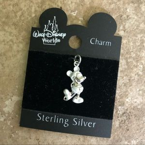 Micky Mouse Sterling Silver Charm